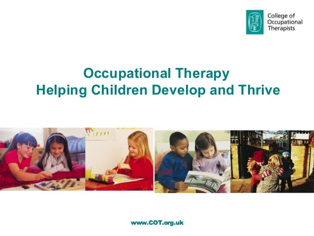 Occupational therapy helping children develop and thrive