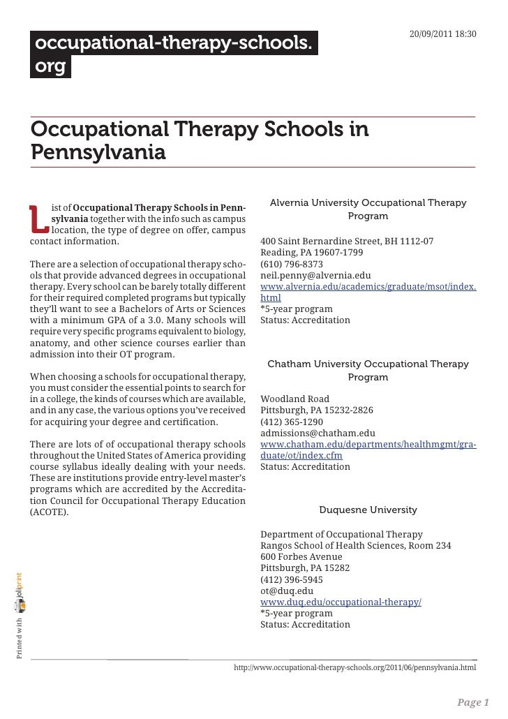 20/09/2011 18:30                 occupational-therapy-schools.                 org                Occupational Therapy Sch...
