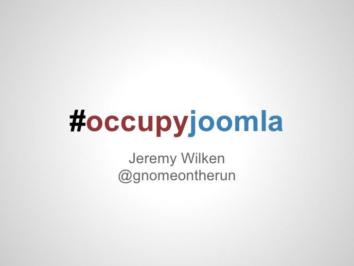 Occupy Joomla