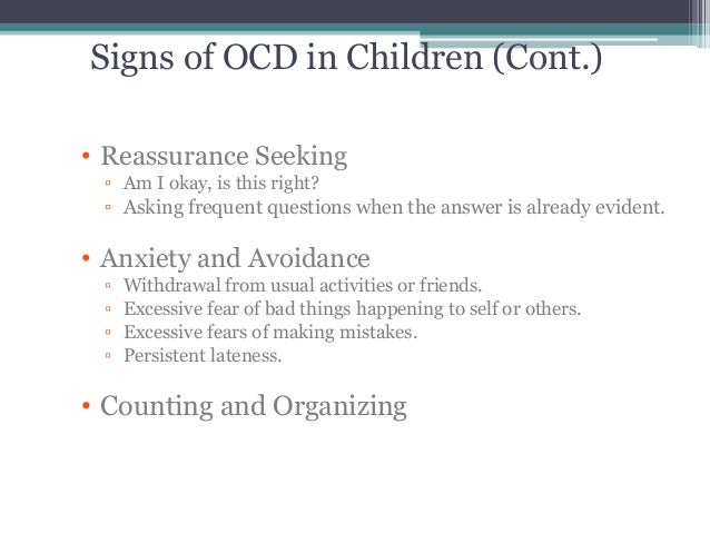 What Is OCD And How Is It Recognized?
