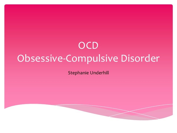 essay paper on ocd
