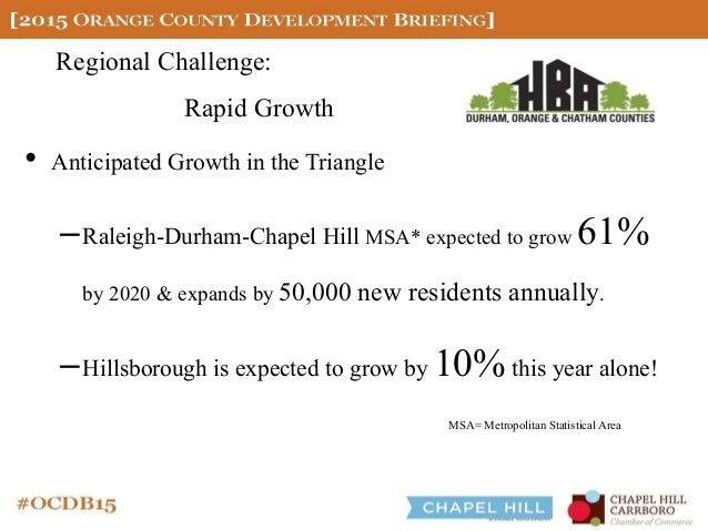 2015 Orange County Development Briefing