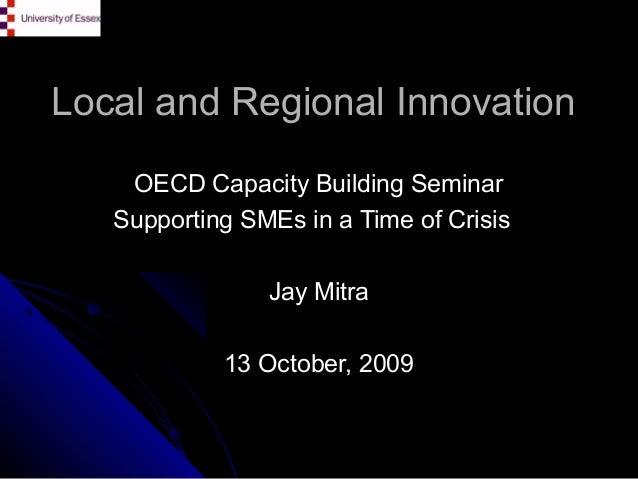 Ocde Innovation and networks