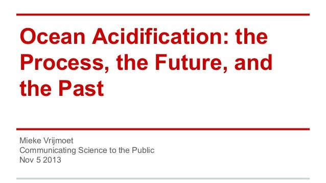 Ocean acidification: the process, the future, and the past