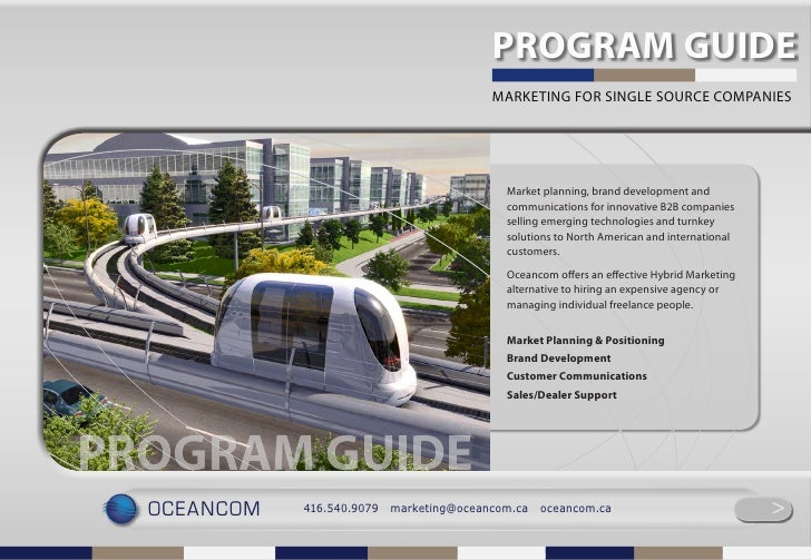 Oceancom Program Guide