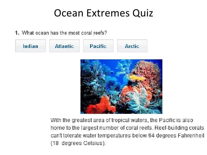Ocean Extremes Quiz