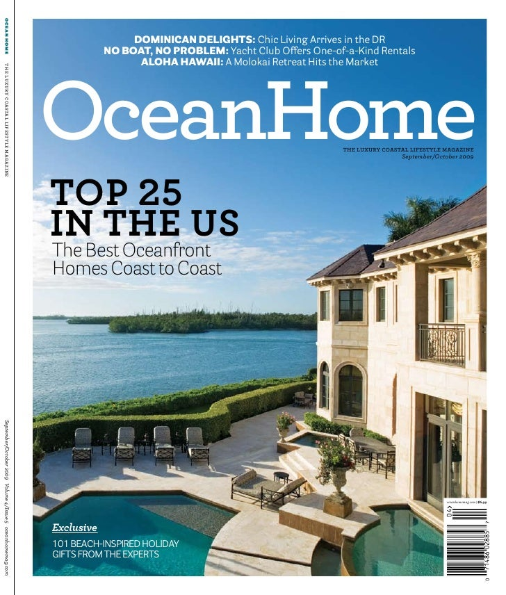ocean home                                                                                 dominican delights: Chic Living...