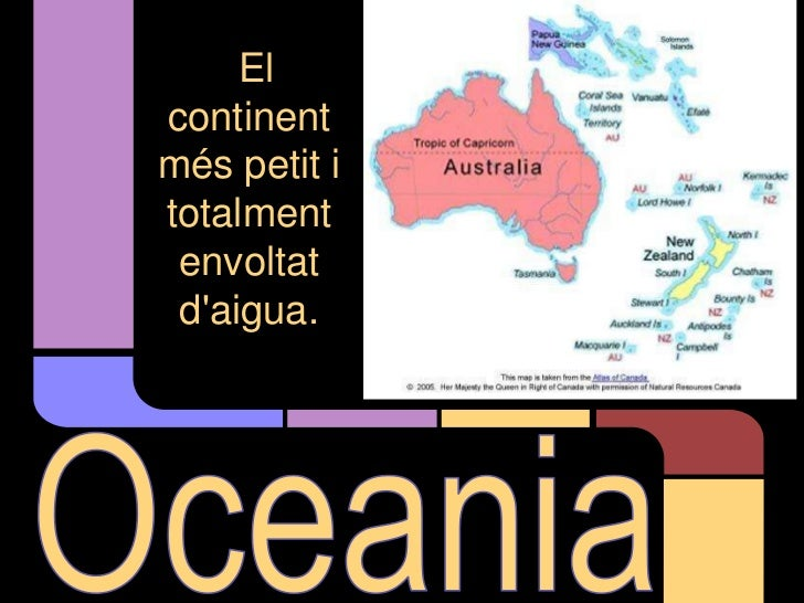 Oceania   presentació