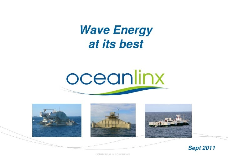 Wave Energy at its best