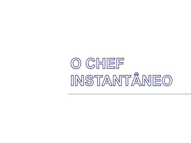 O chef 1 - Delícia de morango