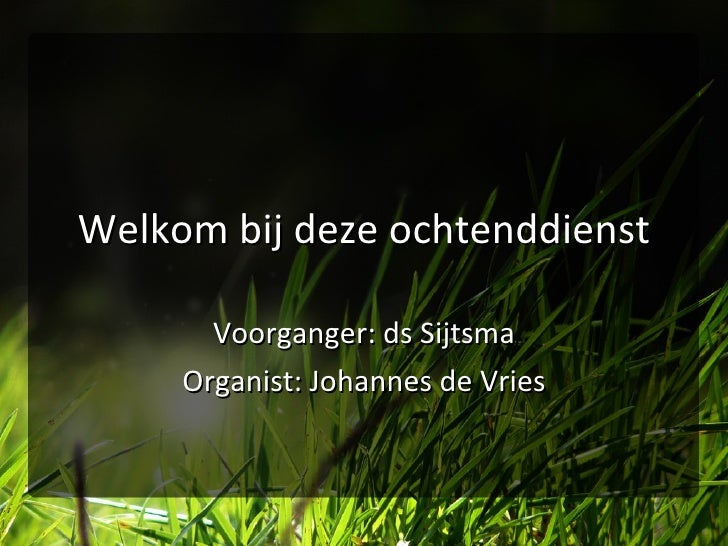 Ds Sytsma