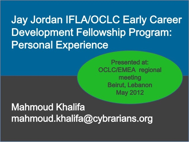 New trends in libraries in USA and Europe: personal experience from OCLC fellowship program
