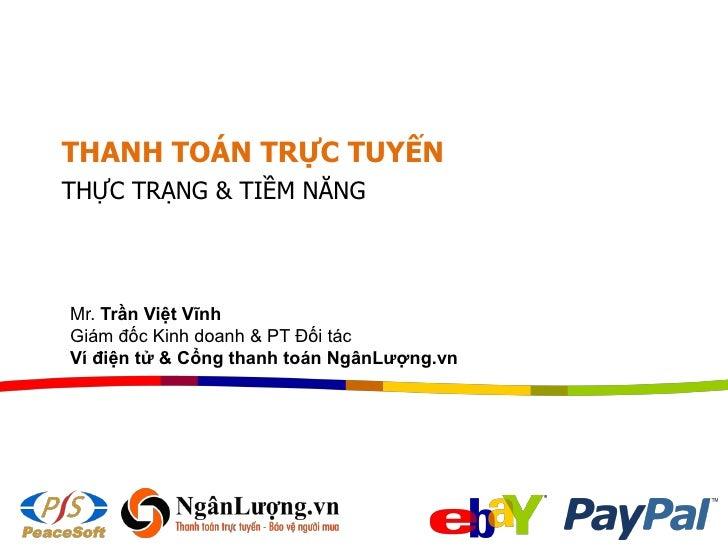 Thanh toán trực tuyến: Hiện trạng & tiềm năng