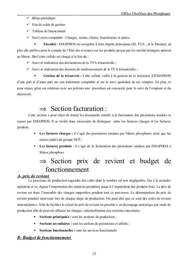 etat de solde de gestion maroc pdf