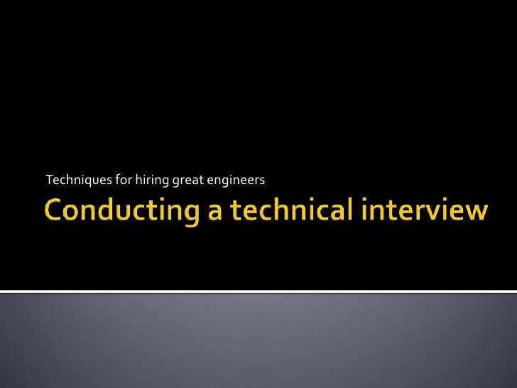 Oct. 25. 2011 webcast   conduct aninterview