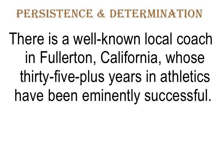 Oct 5-11-08 Persistence Determination