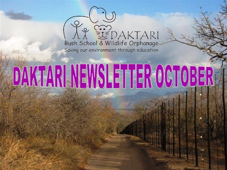 Daktari Newsletter October 2010