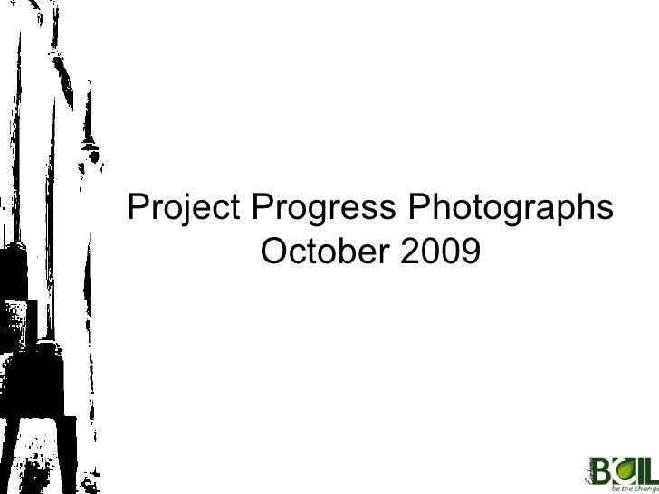 October 2009 BCIL Collective Progress Report
