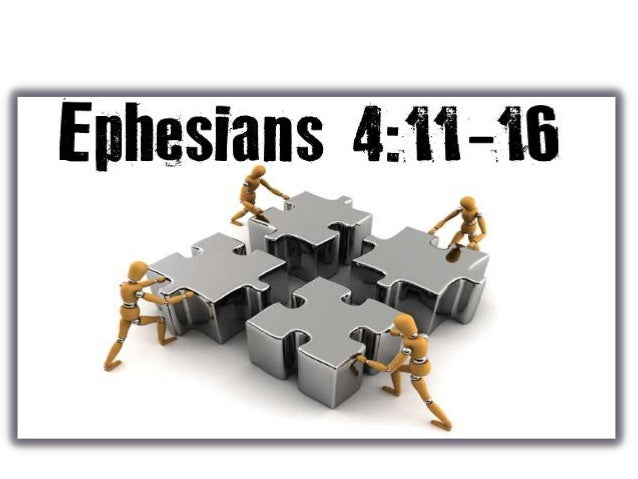 "20 October 2013: ""Building the Church"" (Ephesians 4:11-16)"