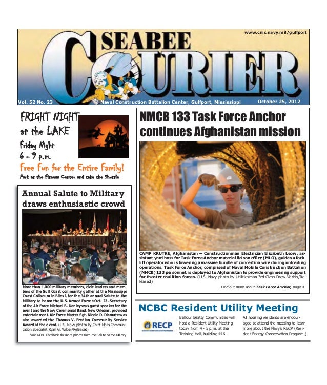 Seabee Courier - Oct 25 2012