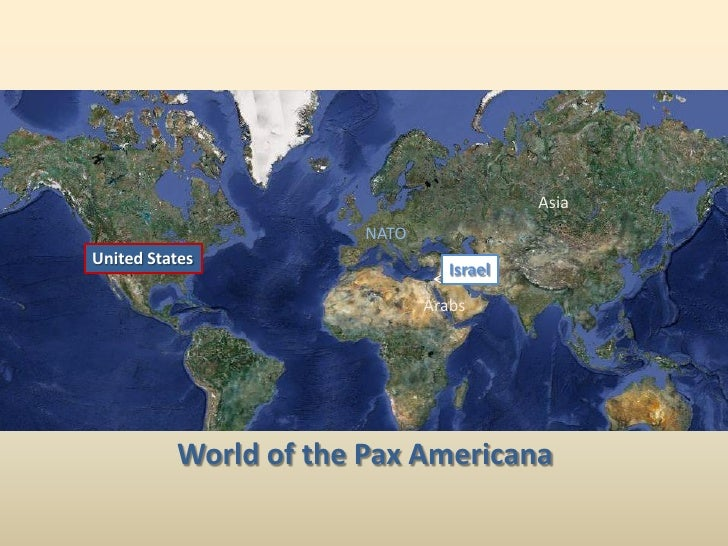 J.E. Dyer - Beyond the Pax Americana:  Israeli Security Issues in a Less Secure World
