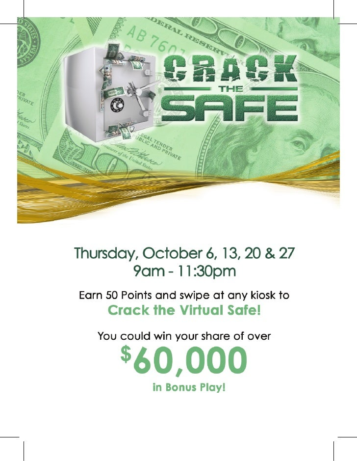 Crack the safe - Mardi Gras Casino