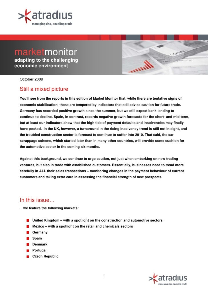 Oct Market Monitor