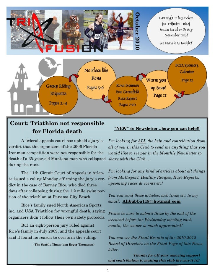 TriFusion Newsletter - Oct.'10