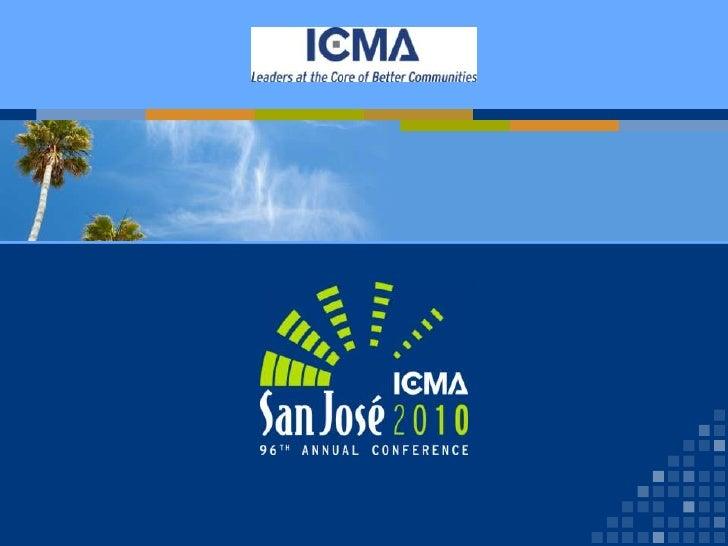 October 2010 ICMA Civic Engagement Presentation