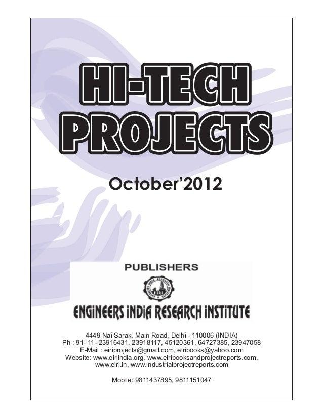 October 2012 hi tech magazine