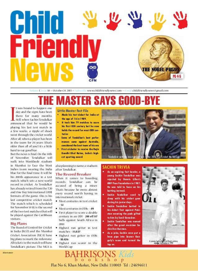 Child Friendly News Letter, Kid Magazine, Children Magazine