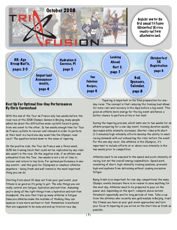 TriFusion Newsletter - Oct.'08