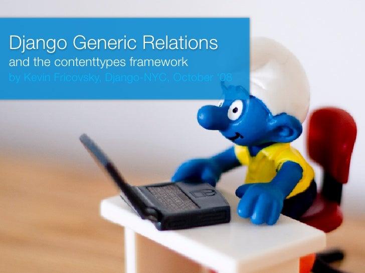 Django Generic Relations