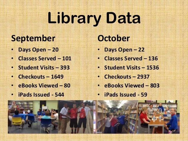 October 2013 Library Statistics