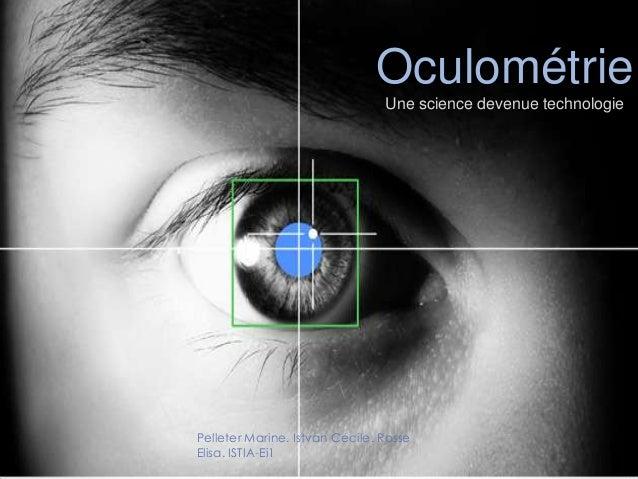 Oculométrie