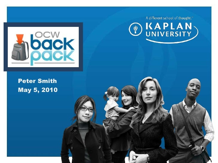 OCW backpack