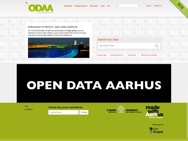 ODAA - OpenData Aarhus