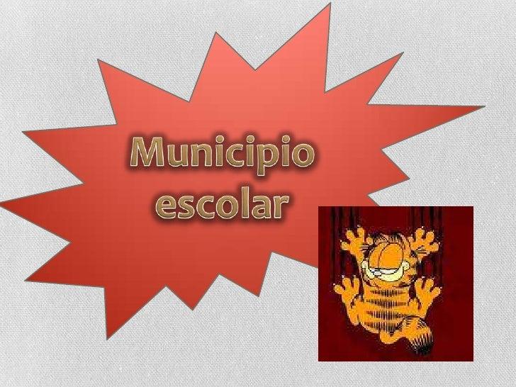 Municipio escolar<br />