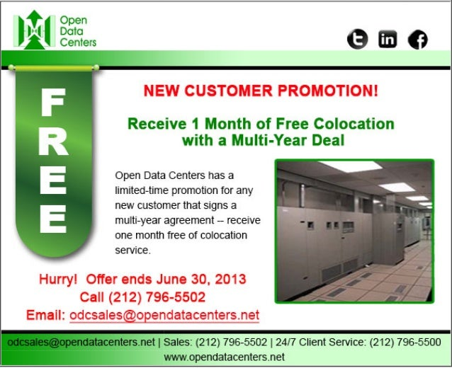 Odc sales promo ends june 30 2013