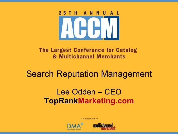 ACCM Search Engine Reputation Management