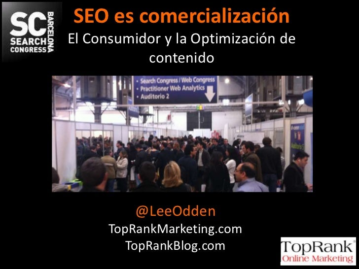 #Optimize Content & Customers - Search Congress Barcelona