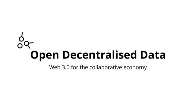 The lovechild of social media, the sharing economy, and Bitcoin - The Open Decentralised Data Project