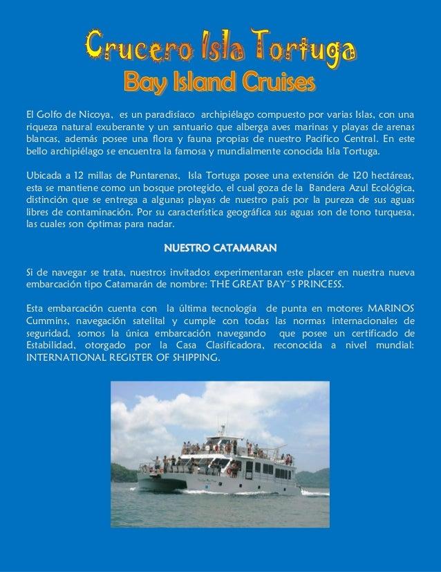 El Golfo de Nicoya, es un paradisíaco archipiélago compuesto por varias Islas, con unariqueza natural exuberante y un sant...