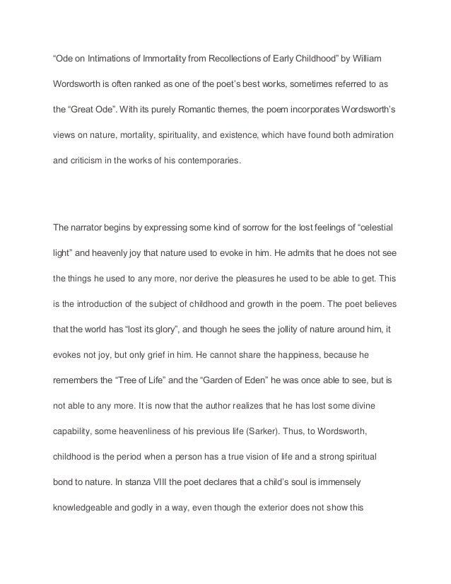 Undergraduate essay