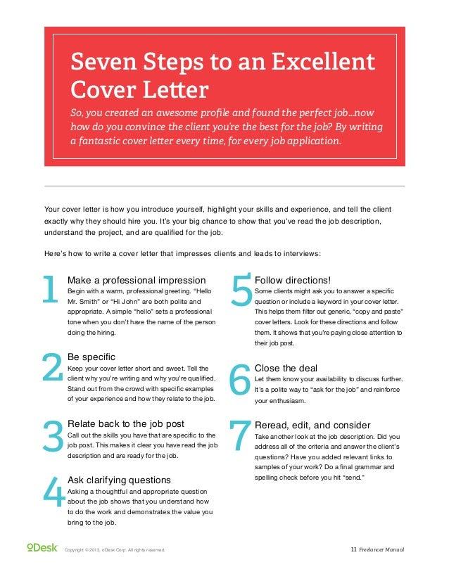 cover letter example 4 for fresh freelancer specially new odesk