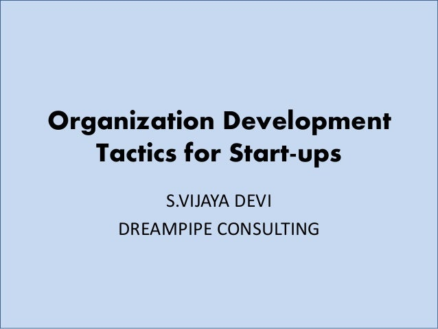 Organizational Development Consulting | Human Resource Architecture