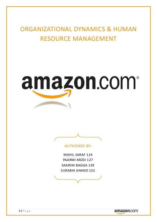 Amazon.com - Company Analysis (OD & HRM)