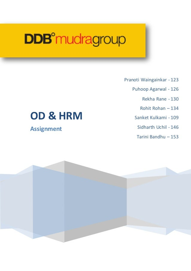 DDB Mudra Case Study