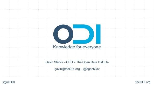 ODI at Future Everything 2013 #futr