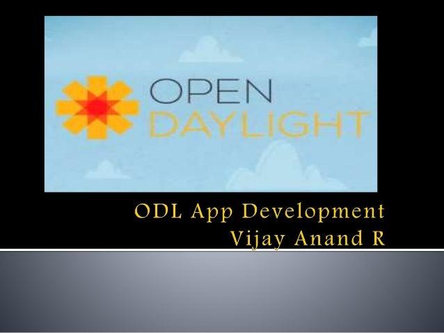 Opendaylight app development